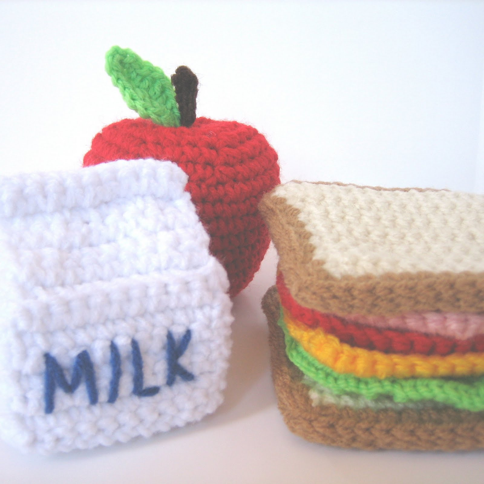 CROCHET N PLAY DESIGNS: Pattern Update: Lunch Play Set