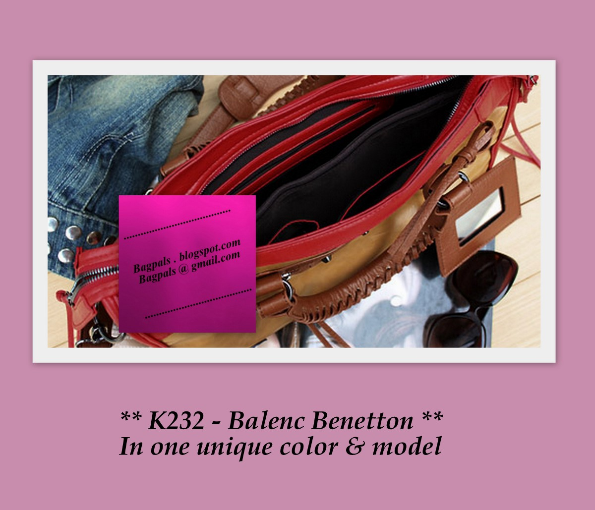 Bagpals online store k232 balenc benetton 36 for Shop online benetton