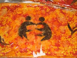 The etwinning pizza Italian students prepared to celebrate the prize