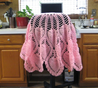 CROCHET FREE PATTERN PINEAPPLE SHAWL FREE PATTERNS