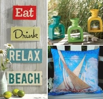 Vintage Beach Decor