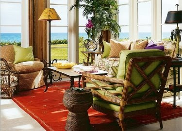 home decorating with red nautical and coastal style completely