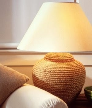 Rope lamp
