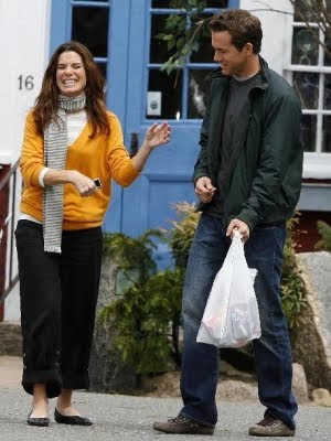 Sandra Bullock filming the proposal in Rockport