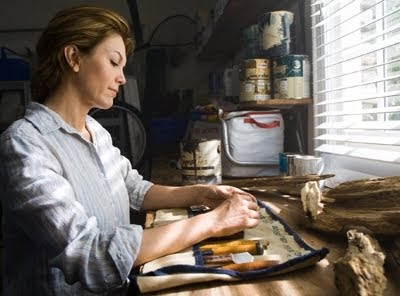 Diane Lane Nights in Rodanthe making driftwood box