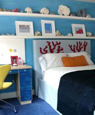 Beach Themed Teen Bedroom