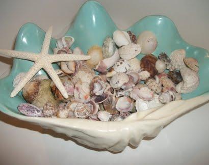 vintage clam bowl
