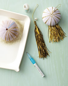 how to make sea urchin ornament