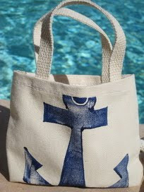 tote with anchor