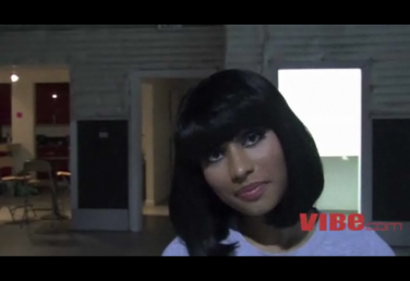 nicki minaj vibe pictures