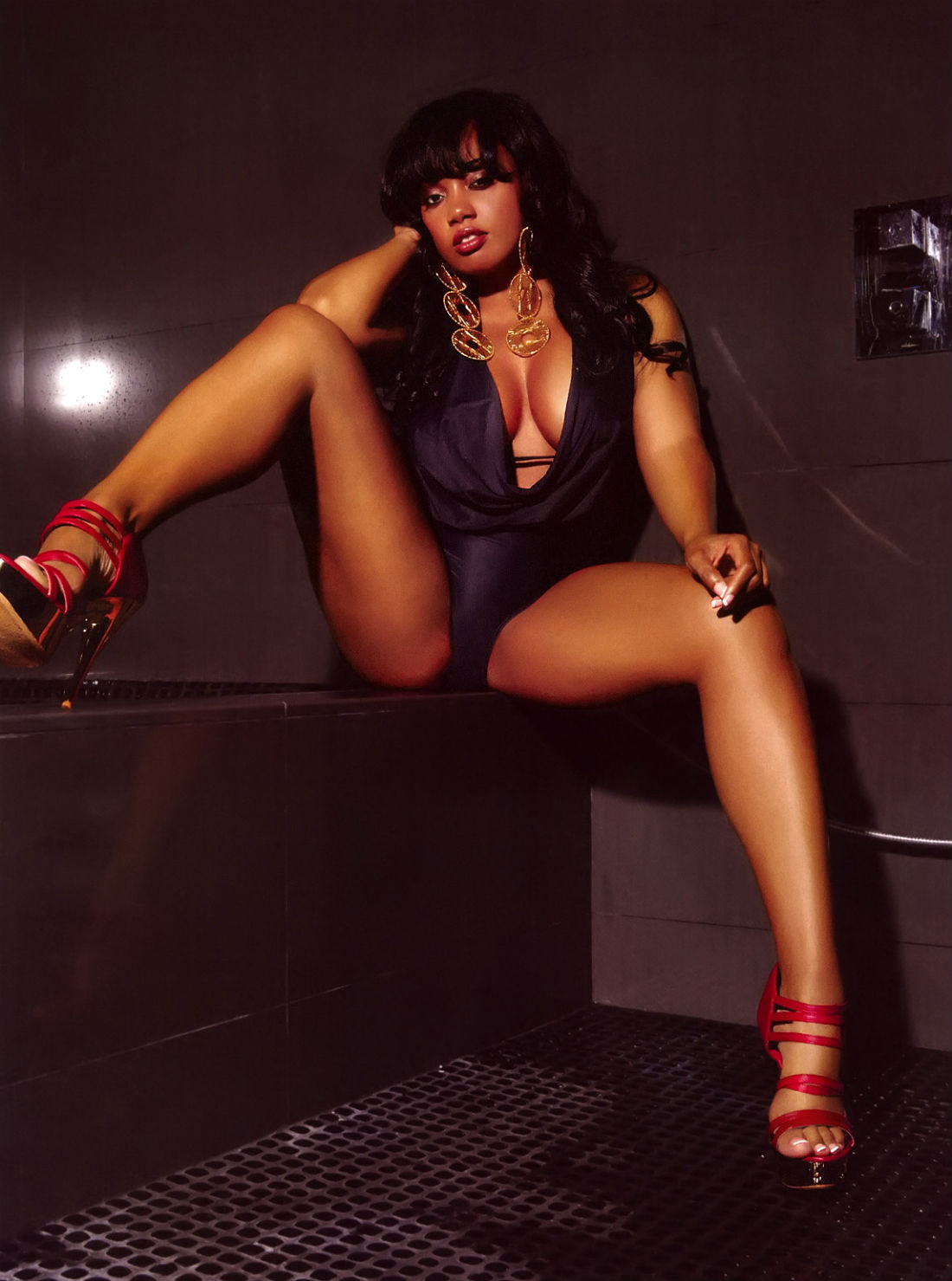 Black model brooke bailey