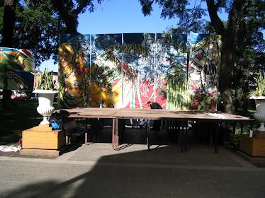 Escenografía Plaza Alberdi