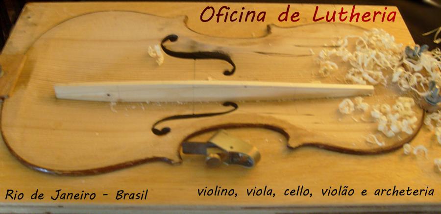 Arcos, Violinos e Lutheria