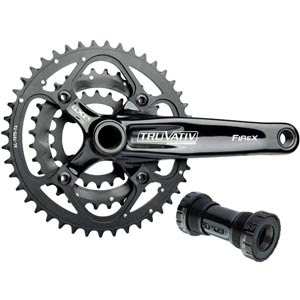 Sram's Truvativ chain set, the stylo version