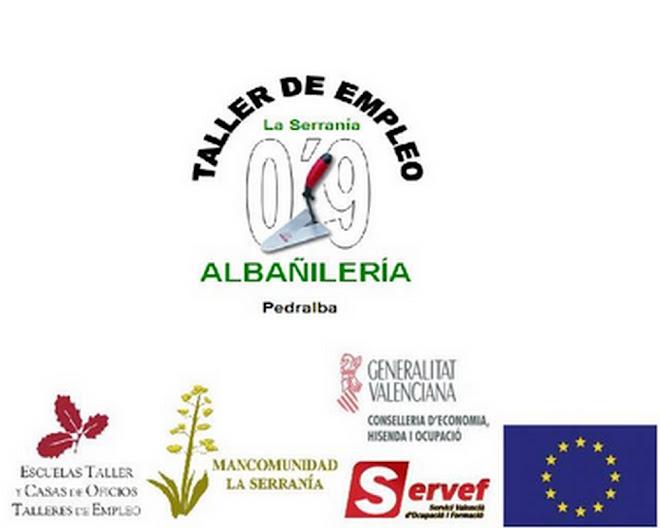 Taller de empleo Serrania 09, esp. albañilería
