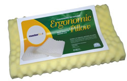 Travesseiro Ortopédico Ergonomic Pillow