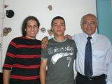 Entre amigos (Aquiles, banda Pacto Sagrado - Luis Fernades, pastor presidente da I.B.P Deus é amor)