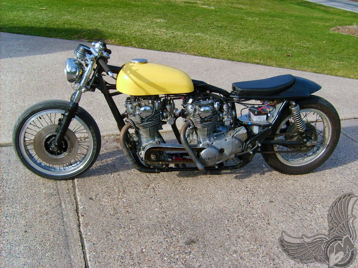 xs650 double motor monster - left