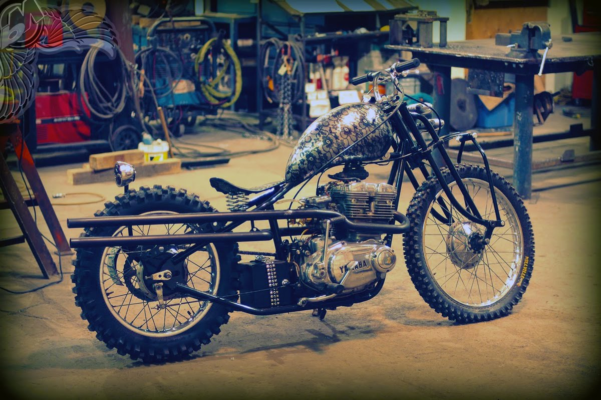 yamaha xs500 bobber | tiny garage rod shop