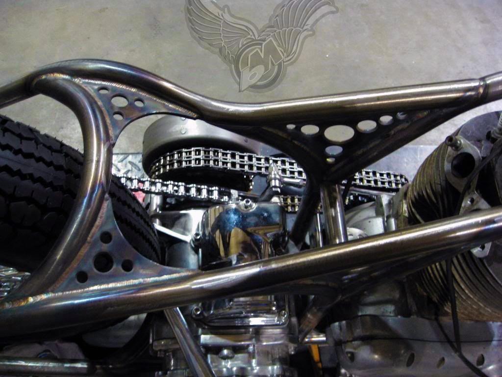 double-motored norton bobber | flyrite