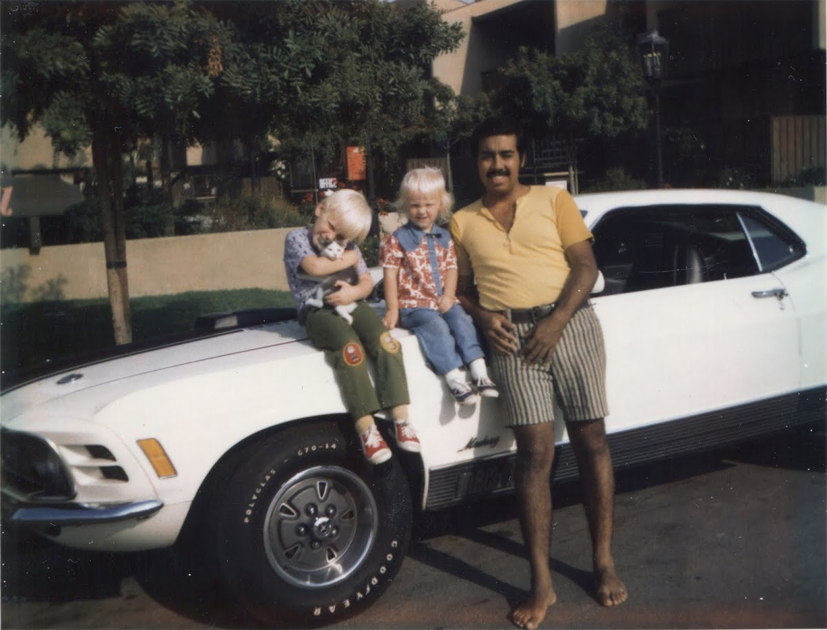 trent, sarah, raul and the mach 1
