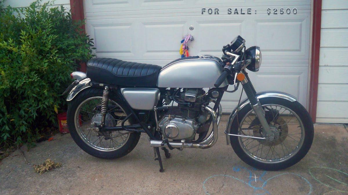 1974 honda cb400t for sale bikermetric for Honda cb400 for sale