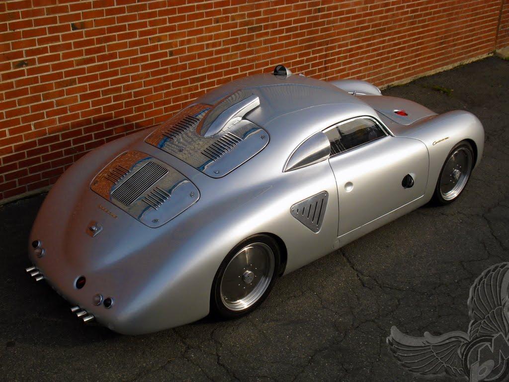 Porsche Type 64 Panamera And Type 356 Bikermetric