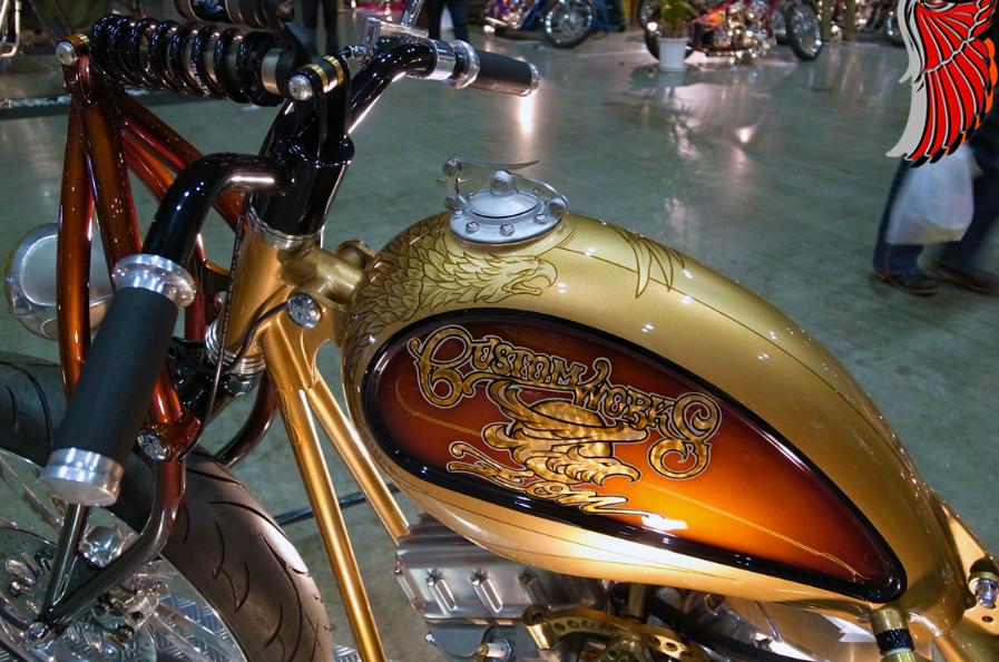 Cool Custom Motorcycle Paint Jobs