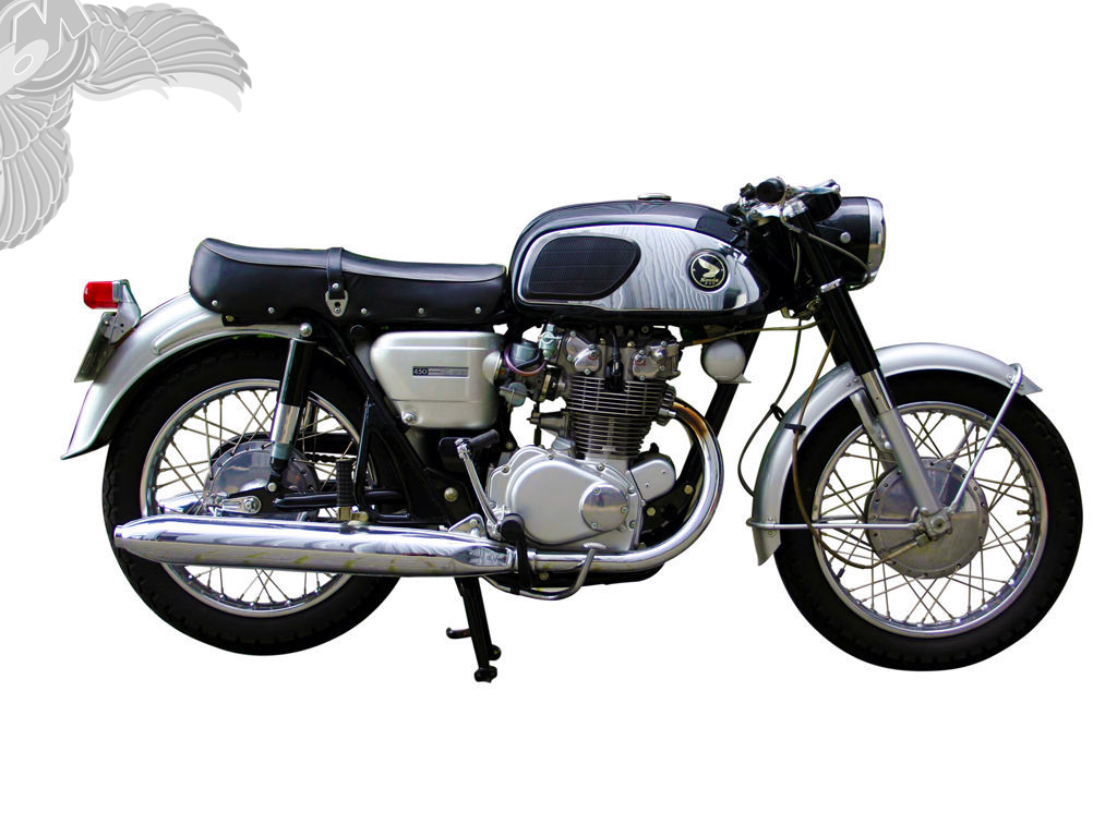 Chaly Style Honda Motorbikes And A Slick Cb450 Cafe