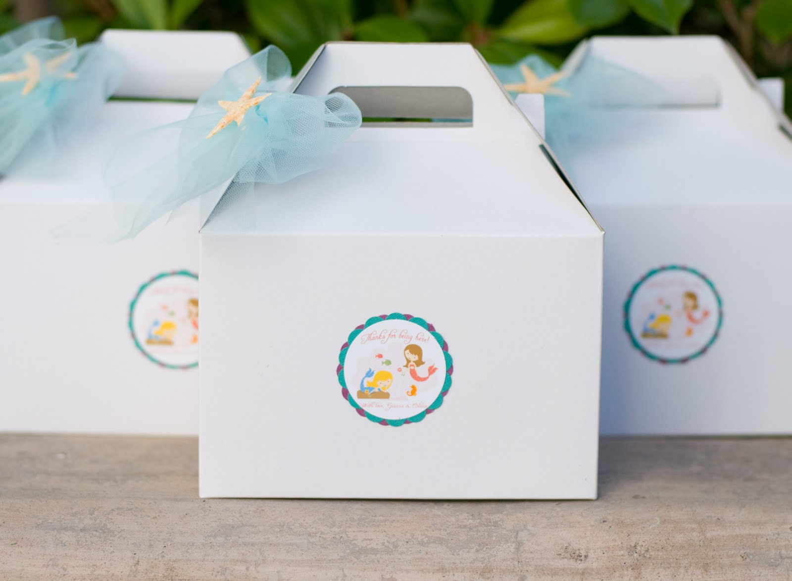 Under the Sea Mermaid Birthday Party Preview | Ruby Red Studio