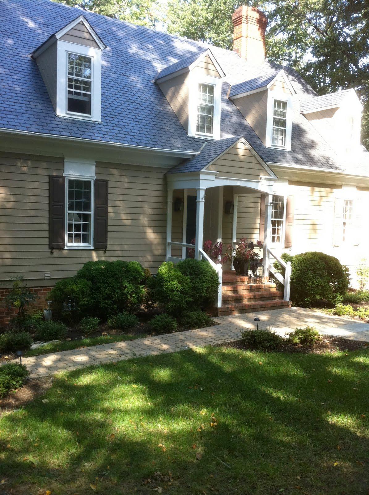 Bridget beari design chat exterior paint colors - Exterior colour schemes for houses ...