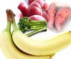 aliments riches potassium sante