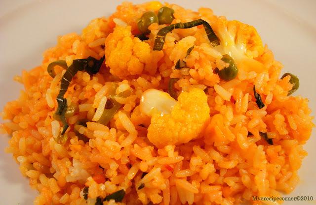 Mye's Kitchen: Indo-Chinese Schezwan Fried Rice