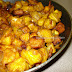 Chili Plantain.( Plantain prepared like Chili Gobi or Chili Chicken.)