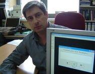 Foto de Julio Miró, uno de los investigadores
