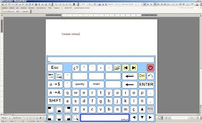 imagen teclado virtual