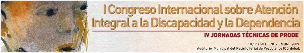 cartel anunciador del Congreso Discapacidad y Dependencia