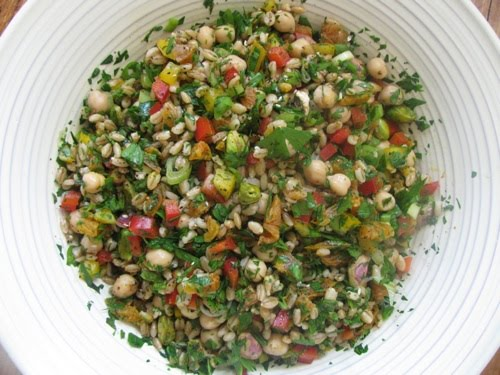 Moroccan Chickpea Barley Salad Recipes — Dishmaps