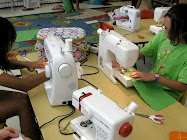 Machine Sewing With Kids