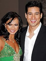 Photo of Karina Smirnoff and Mario Lopez