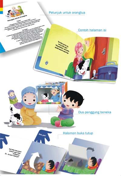 Petunjuk untuk orangtua memberikan gambaran tentang tujuan dari cerita