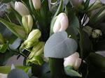 Tack för alla  blommor som skickats till mig