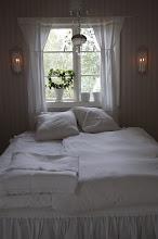 Vårt sovrum.
