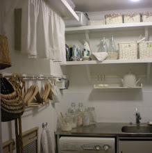 För ett år sedan blev vår tvättstuga så här fin.