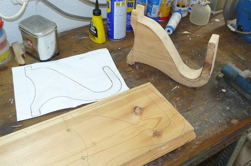 Ganchos para colgar la tabla for Madera para colgar ganchos