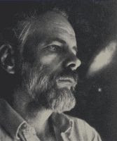 Philip K. Dick black and white photograph