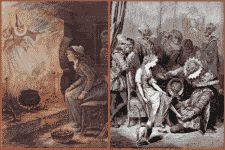 Cinderella antique print illustrations