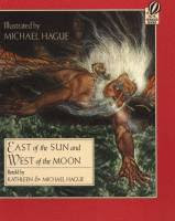 East of the Sun and West of the Moon by Peter Christen Asbjornsen, edited by Kathleen and Michael Hague, illustrated by Michael Hague front cover.jpg