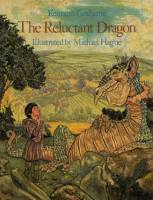 The Reluctant Dragon by Kenneth Grahme, illustrated by Michael Hague front cover