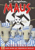 Maus II, And Here My Troubles Began by Art Spiegelman front cover